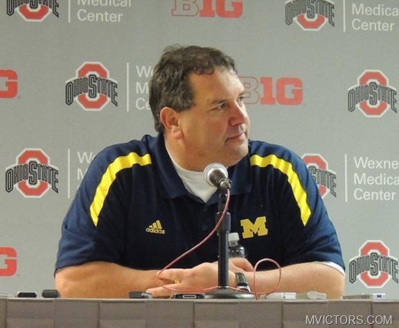 Brady Hoke - Postgame Ohio State 2012