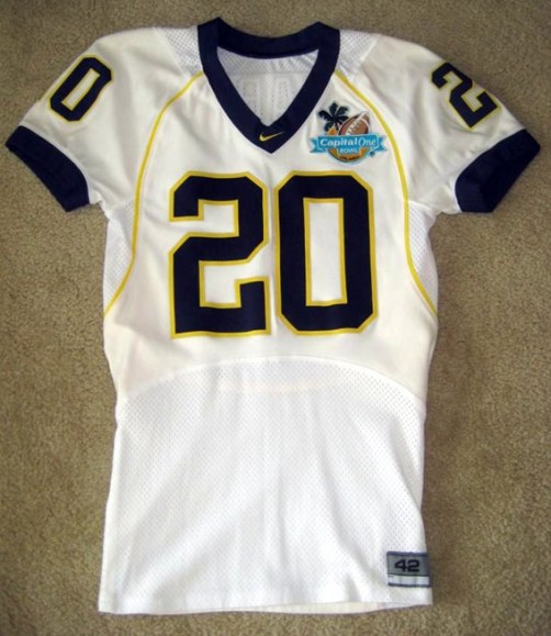 Mike Hart Jersey 2008 Capital One Bowl