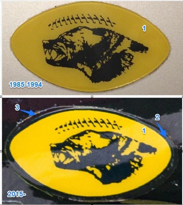 Michigan Helmet Stickers Comparison