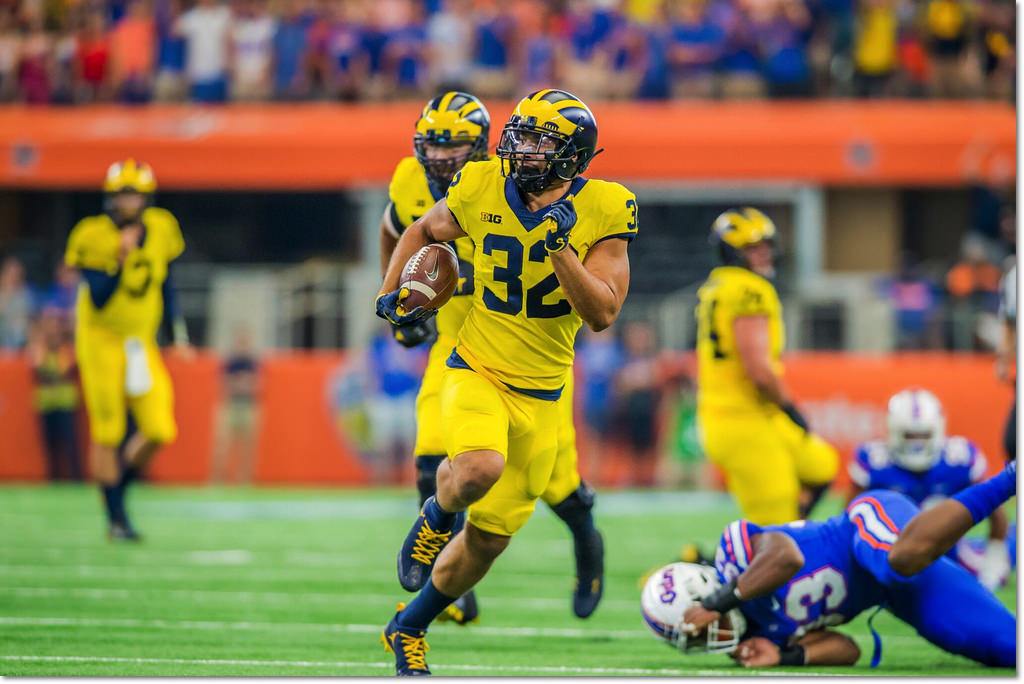 "ee9a5b50ddcd JERSEY PANTS SHOES  The U-M Athletic Department announces that Michigan  will be wearing an ""All-Maize"" uniform in the season opener against Florida."