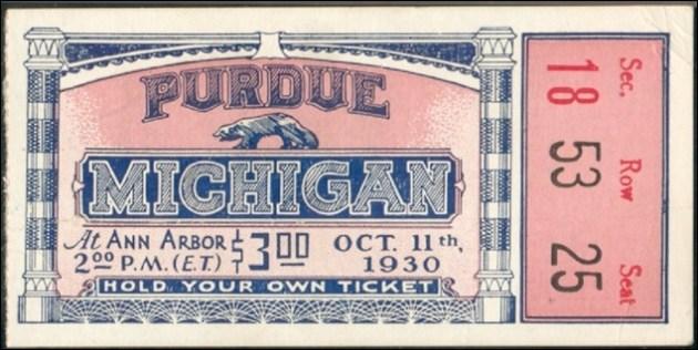 Michigan Purdue