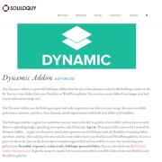 Soliloquy Add-On: Dynamic