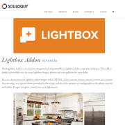 Soliloquy Add-On: Lightbox
