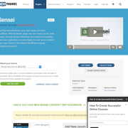 WooThemes: Sensei LMS WordPress Plugin
