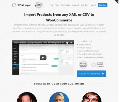 WP All Import Pro Plugin
