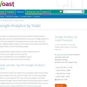 Yoast: Google Analytics