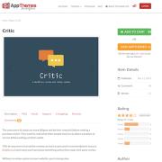 AppThemes: Critic