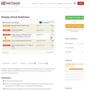 AppThemes: Simply Hired Publisher