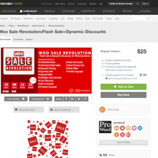 Codecanyon: Woo Sale Revolution