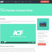 Advanced Custom Fields: Flexible Content Field