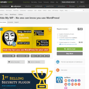 Codecanyon: Hide My WP