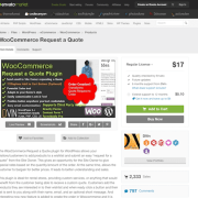 Codecanyon: WooCommerce Request a Quote