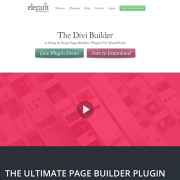 Elegant Themes: Divi Builder WordPress Plugin