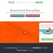Elegant Themes: Monarch WordPress Plugin