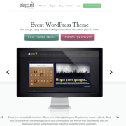 Elegant Themes: Event WordPress Theme