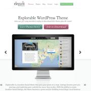 Elegant Themes: Explorable WordPress Theme