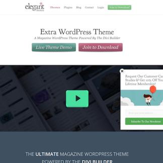 Elegant Themes: Extra Theme