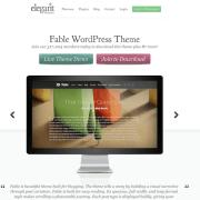 Elegant Themes: Fable WordPress Theme