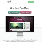 Elegant Themes: Glow WordPress Theme