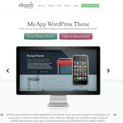 Elegant Themes: MyApp WordPress Theme