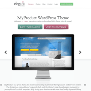 Elegant Themes: MyProduct WordPress Theme