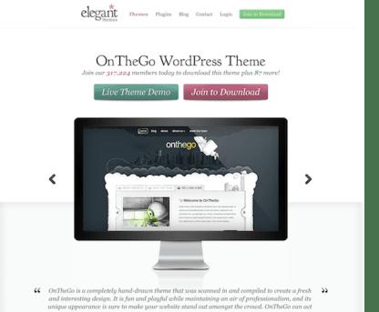 Elegant Themes: OnTheGo WordPress Theme