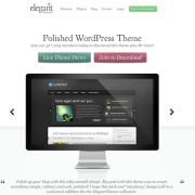 Elegant Themes: Polished WordPress Theme