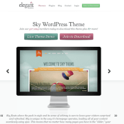 Elegant Themes: Sky WordPress Theme