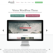 Elegant Themes: Vertex WordPress Theme