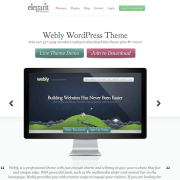 Elegant Themes: Webly WordPress Theme