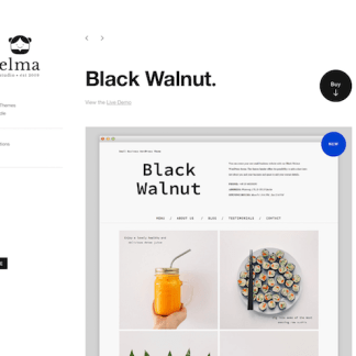 Elmastudio: Black Walnut WordPress Theme