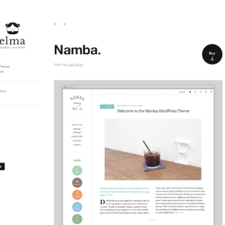 Elmastudio: Namba WordPress Theme