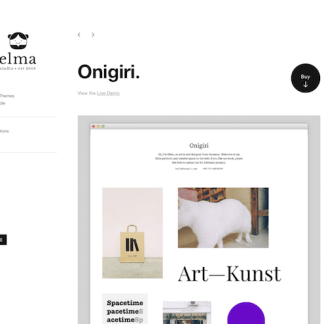 Elmastudio: Onigiri WordPress Theme