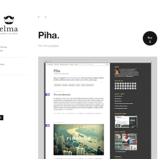 Elmastudio: Piha WordPress Theme