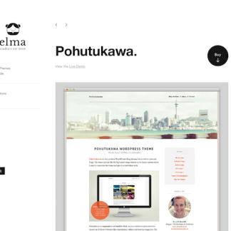 Elmastudio: Pohutukawa WordPress Theme