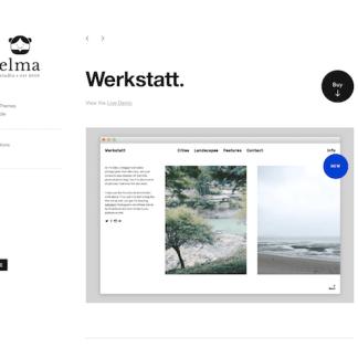Elmastudio: Werkstatt WordPress Theme