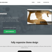 Graph Paper Press: Immense WordPress Theme