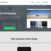 Graph Paper Press: Stock Photography WordPress Theme
