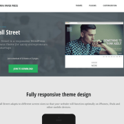 Graph Paper Press: Wall Street WordPress Theme