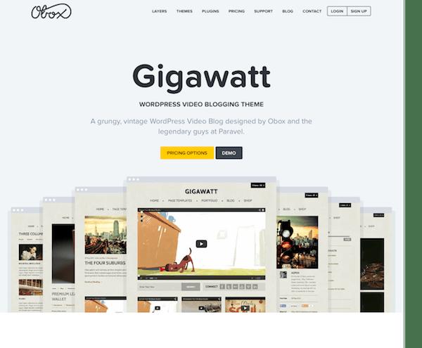OboxThemes: Gigawatt WordPress Theme