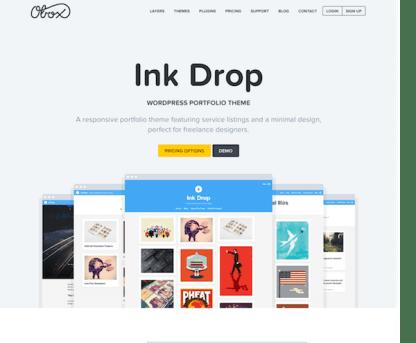 OboxThemes: Ink Drop WordPress Theme