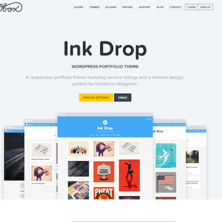 OboxThemes: Ink Drop WordPress Theme