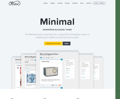 OboxThemes: Minimal WordPress Theme