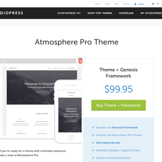 StudioPress: Atmosphere Pro Theme