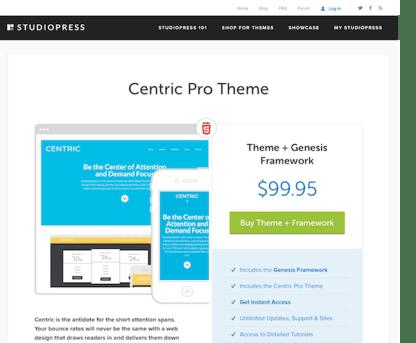 StudioPress: Centric Pro Theme