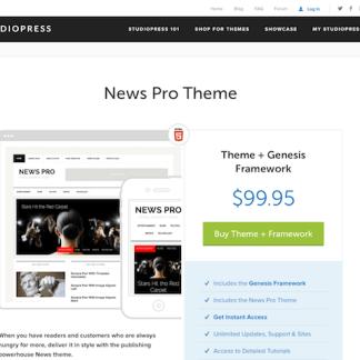 StudioPress: News Pro Theme