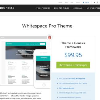 StudioPress: Whitespace Pro Theme