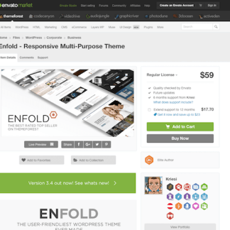 Themeforest: Enfold