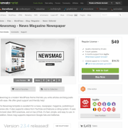 Themeforest: Newsmag