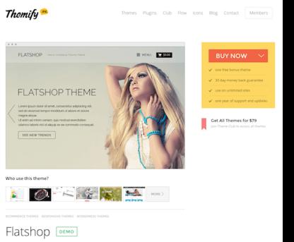 Themify: Flatshop WooCommerce Theme